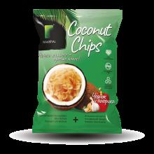 """Кокосовые чипсы """"Паприка и чеснок"""", 40 гр"""