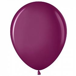 """Шар (12""""/ 30 см), пурпурный, пастель, 100 шт"""