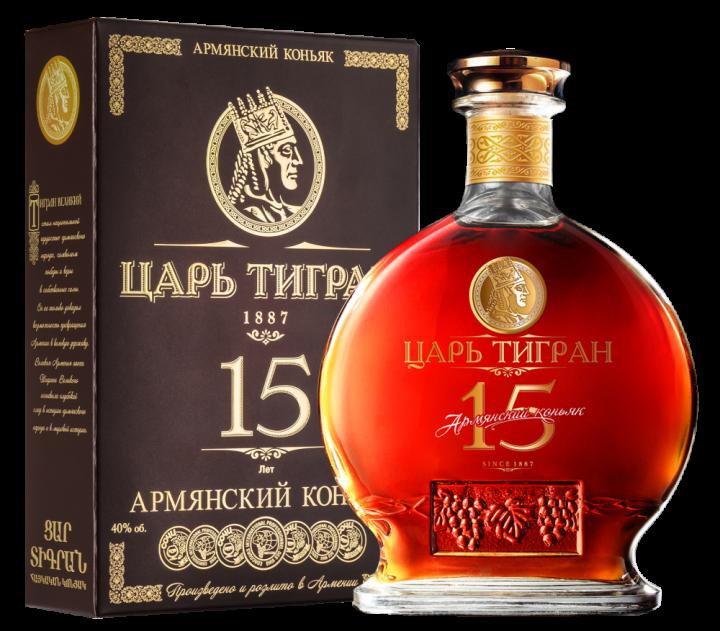 Царь Тигран 15 лет выдержки, 0.7 л.
