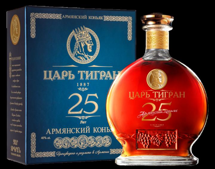 Царь Тигран 25 лет выдержки, 0.7 л.