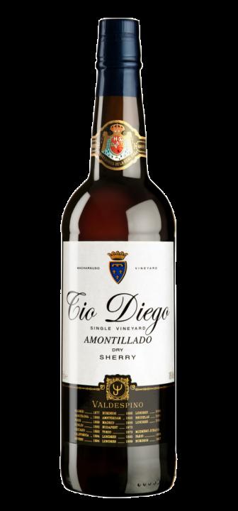 """Amontillado """"Tio Diego"""", 0.75 л."""