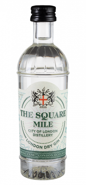 Square Mile London Dry Gin, 0.05 л.
