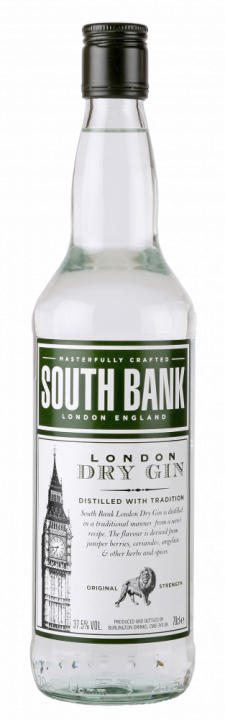 South Bank London Dry Gin, 1 л.
