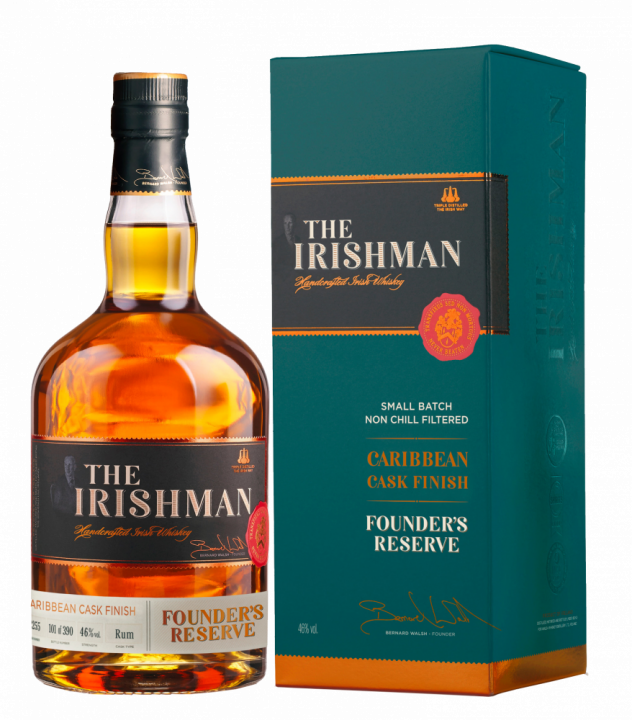 The Irishman Founder's Reserve Caribbean Cask Finish, 0.7 л.