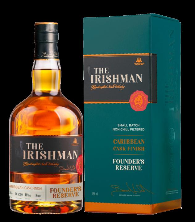 The Irishman Founder's Reserve Caribbean Cask Finish, 0.7 л.