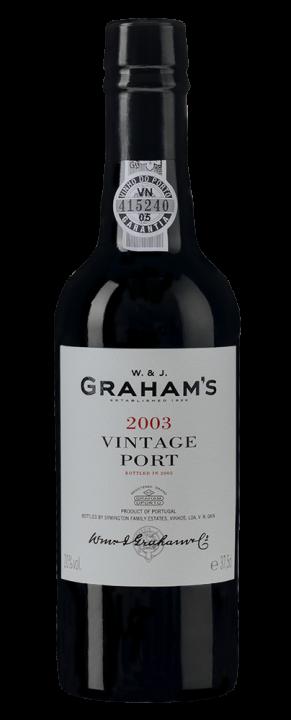 Graham's Vintage Port, 0.375 л., 2003 г.