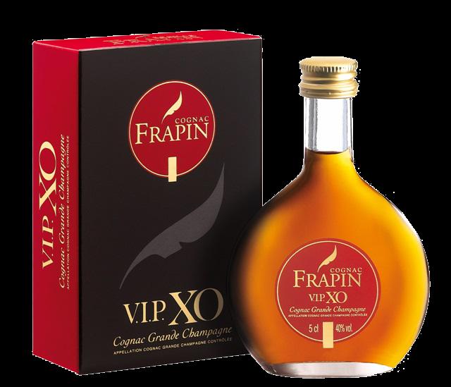 Frapin VIP XO Grande Champagne 1er Grand Cru du Cognac, 0.05 л.