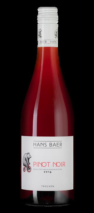 Hans Baer Pinot Noir, 0.75 л., 2016 г.