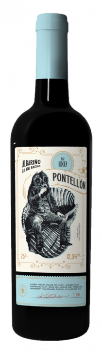 Pontellon Albarino, 0.75 л., 2017 г.