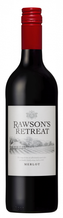 Rawson's Retreat Merlot, 0.75 л., 2015 г.