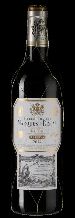 Marques de Riscal Reserva, 0.75 л., 2014 г.