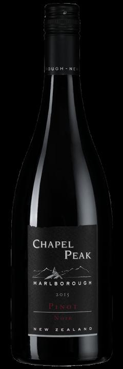 Chapel Peak Pinot Noir, 0.75 л., 2015 г.