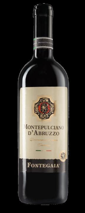 Fontegaia Montepulciano D'Abruzzo, 0.75 л., 2017 г.