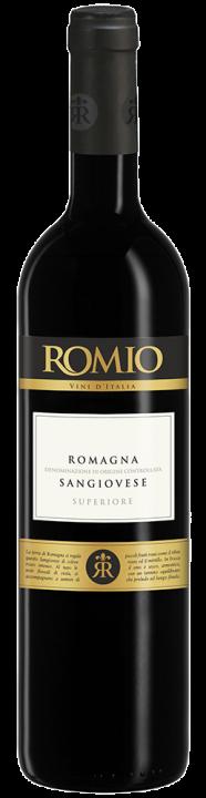 Romio Sangiovese di Romania Superiore, 0.75 л., 2015 г.