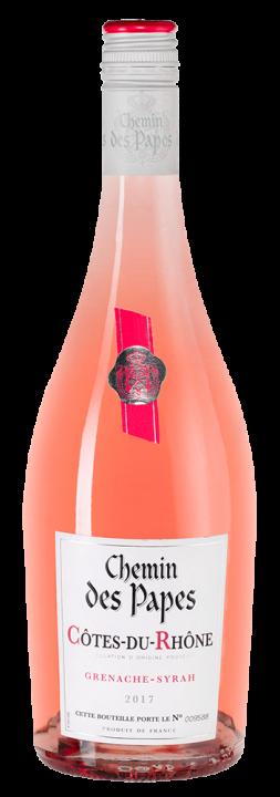 Chemin des Papes Cotes du Rhone Rose, 0.75 л., 2017 г.