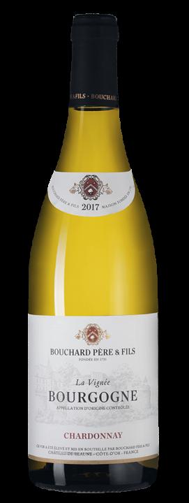 Bourgogne Chardonnay La Vignee, 0.75 л., 2017 г.
