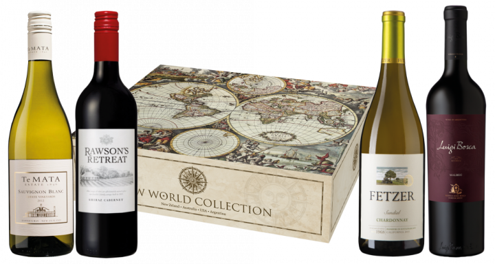 Набор New World Collect. 4 бут, 0.75 л.