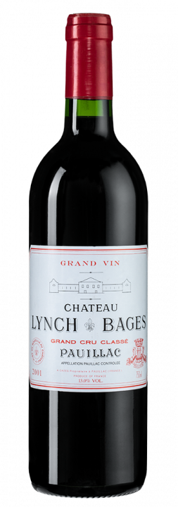 Chateau Lynch-Bages, 0.75 л., 2001 г.