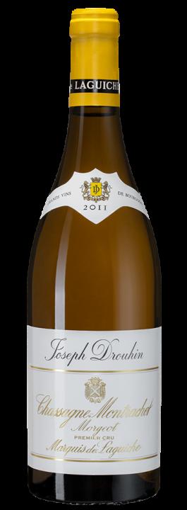 """Chassagne-Montrachet Premier Cru """"Morgeot"""" Marquis de Laguiche, 0.75 л., 2011 г."""