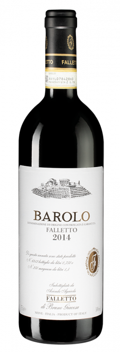 Barolo Falletto, 0.75 л., 2012 г.