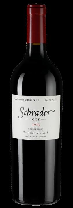 Schrader CCS Cabernet Sauvignon, 0.75 л., 2013 г.