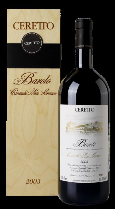 Barolo Cannubi San Lorenzo, 1.5 л., 2003 г.