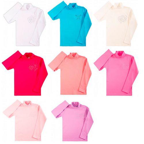 Цветные водолазки Bonito для девочек 7-10 лет BK113V