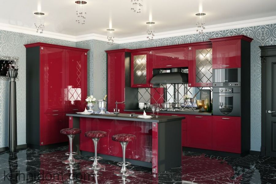 Кухня Баколи Вишневая