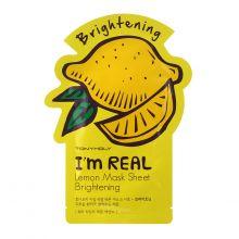 "I'm Real Lemon Mask Sheet, Маска для лица ""Лимон"""