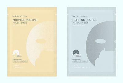 Маска для лица листовая Nature Republic Morning Routine Mask Sheet 20гр