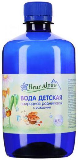 Вода Fleur Alpine природная родниковая детская, 0,5л