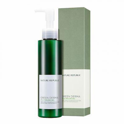 Пилинг-гель для лица Nature Republic Green Derma Mild Peeling Gel 150мл