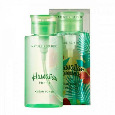Тонер для лица очищающий Nature Republic Hawaiian Fresh Clear Toner 500 ml 500мл