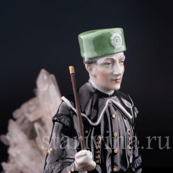 Изображение Шахтер в парадном костюме, Carl Thieme, Potschappel, Германия, вт. пол. 20 в.