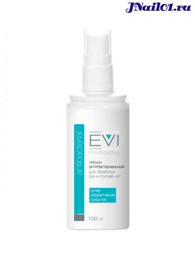 EVI professional, Лосьон антибактериальный для обработки рук и ступней ног (спрей), 100 мл