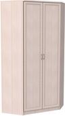 Шкаф угловой несимметричный (модуль 403) дуб молочный