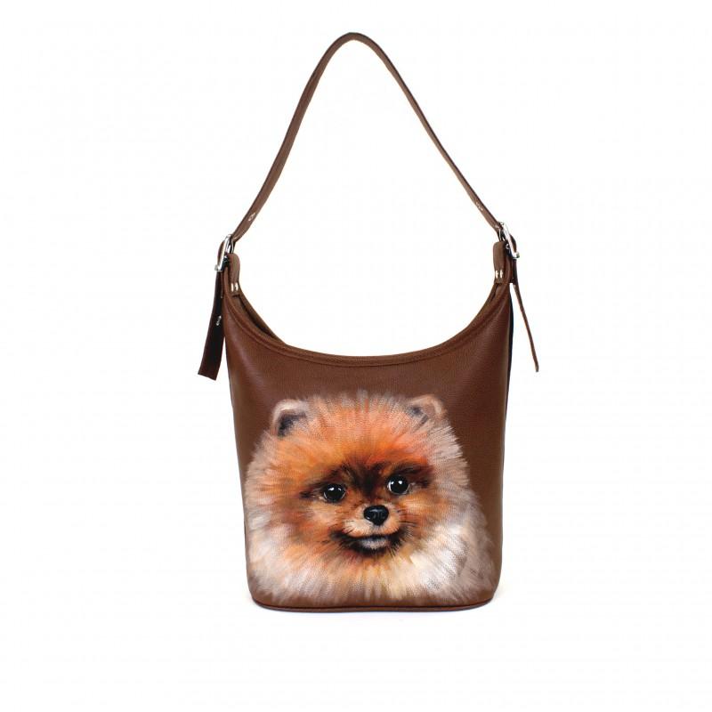 Маленькая сумочка Померанский шпиц >Артикул: AA220051