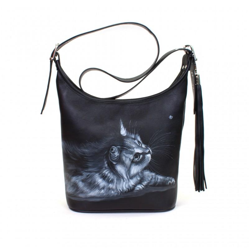 Маленькая сумочка Лунный котик >Артикул: AA220041