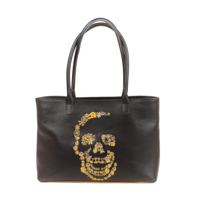 Средняя сумка Золотой череп >Артикул: AA200032