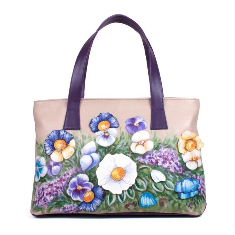 Средняя сумка Луговые цветочки >Артикул: AA200015