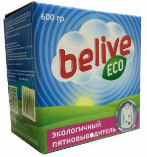 Экологичный пятновыводитель «Belive», 600гр