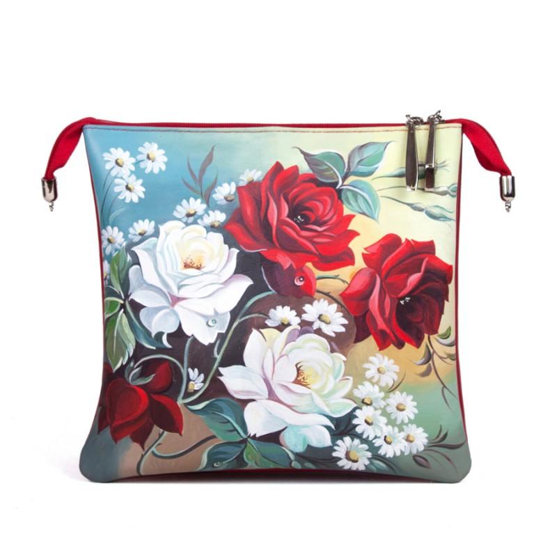 Клатч Розы 3D >Артикул: AD050021