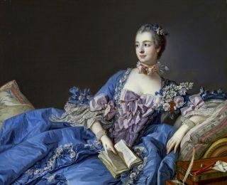 Портрет мадам де Помпадур ( Репродукция Франсуа Буше)