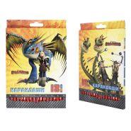 Набор цветных карандашей Action! Dragons, 18 шт. (арт. DR-ACP205-18)