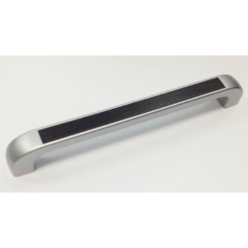 Ручка-скоба S-146 128 St светлый/кромка-венге матовый