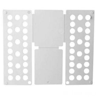 Рамка для складывания взрослой одежды Clothes Folder (Клозес Фолдер), Цвет: Белый