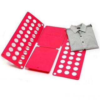 Рамка для складывания взрослой одежды Clothes Folder (Клозес Фолдер), Цвет: Красный