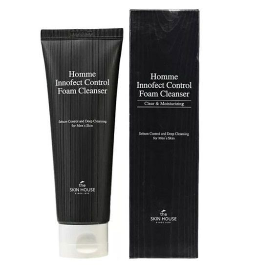 Очищающая пенка для мужчин The Skin House Homme Innofect Control Foam Cleanser
