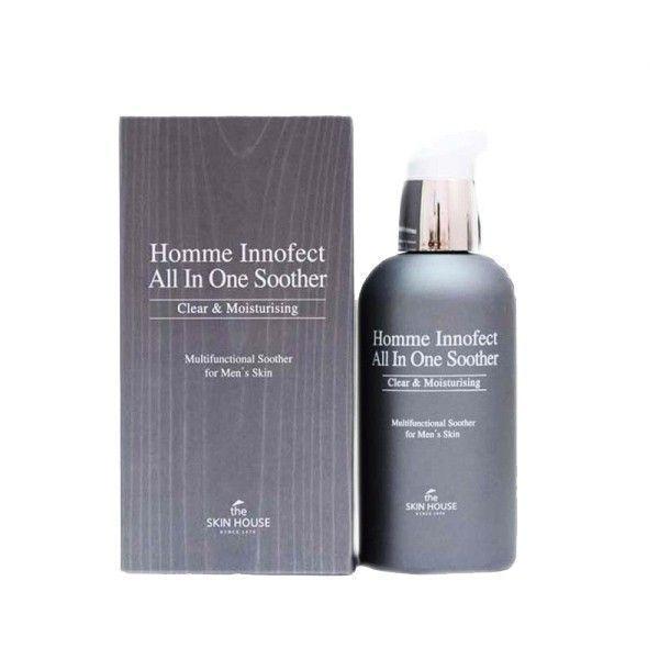 Многофункциональное средство для ухода за мужской кожей, 130мл, The Skin House