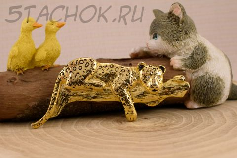 """Брошь """"Леопард"""" (США)"""